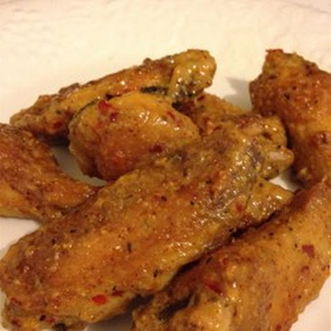 Mighty Mustard Wings Recipe | Yummly