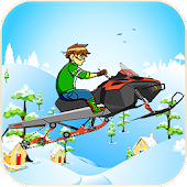 Ben Snowcross Hill Racing : Snow Race Game