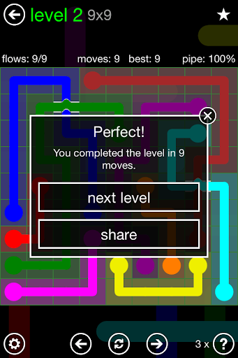 Flow: Bridges - screenshot