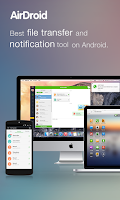Screenshot of AirDroid: File & Notifications