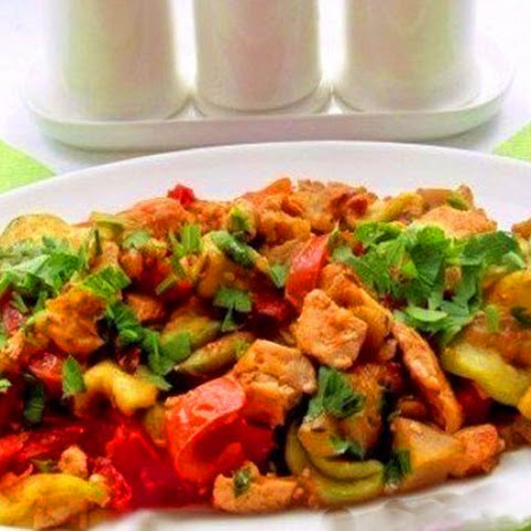 Spicy Chicken With Vegetables And Soy Sauce – Perfect For A Late Dinner!