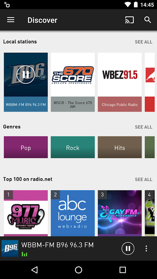 radio.net PRIME Screenshot 1