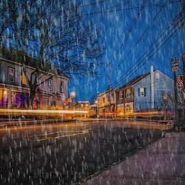The Stanhope House.. by Steve Arthur - City,  Street & Park  Street Scenes