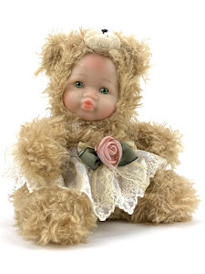 """Игрушка мягконабивная плюшевая """"Anna De Wailly"""", медвежонок"""