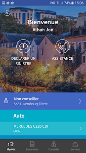MyAXA Luxembourg Business app for Android Preview 1