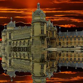 Soir d'orage à Chantilly by Gérard CHATENET - Digital Art Places