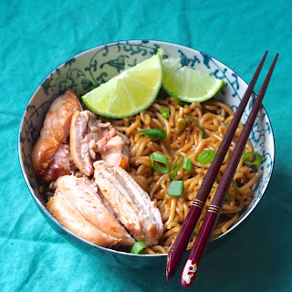 Asian Honey Garlic Noodles