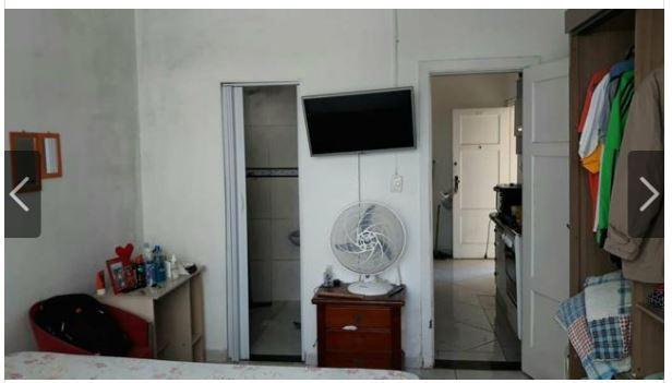 Kitnet com 1 dormitório à venda, 43 m² por R$ 223.000 - Boqueirão - Santos/SP