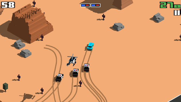 Smashy Road: Wanted apk screenshot