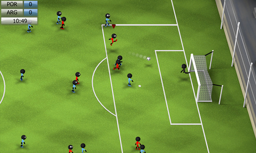 Stickman Soccer 2014 screenshot 2