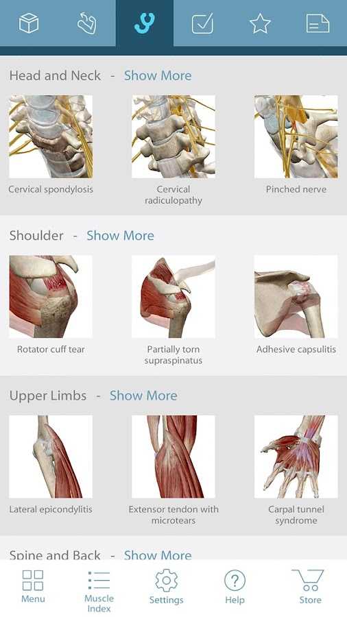 Muscle Premium - 3D Guide Screenshot 1