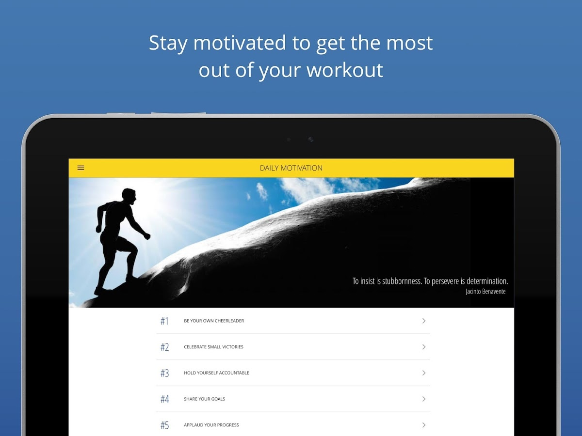 P4P 7 Minute Workout PRO Screenshot 13