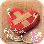Cute wallpaper-Broken Heart- 1.0.1 Apk
