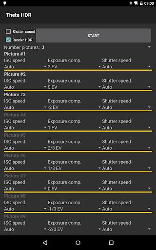 HDR for Ricoh Theta Cameras - screenshot