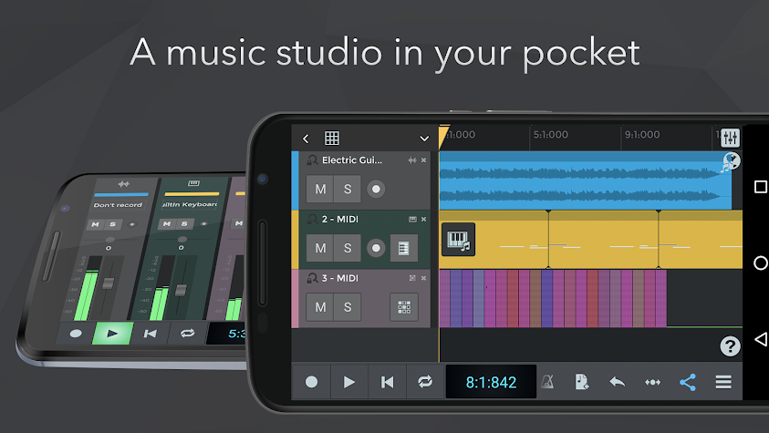 n-Track Studio Music DAW Screenshot