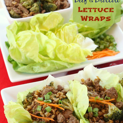 Asian Beef and Broccoli Lettuce Wraps for #WeekdaySupper