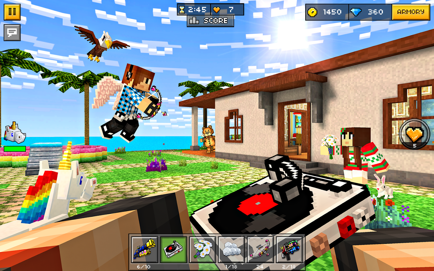 Pixel Gun 3D (Pocket Edition) Screenshot 13