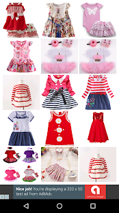 Baby Dresses Design - screenshot