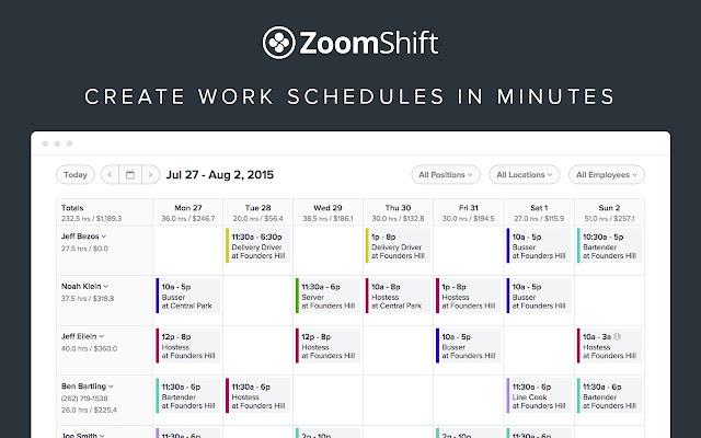 easy employee schedule template | trattorialeondoro