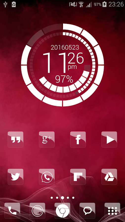 Elite Glass Nova Theme HD Screenshot 5