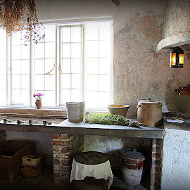 Kitchen Quarry bank MIll by Caroline Beaumont - Buildings & Architecture Public & Historical ( kitchen quarry bank mill )
