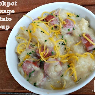 Crockpot Sausage Potato Soup