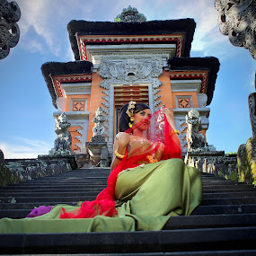Spirit of temple by Erick Suminta - People Portraits of Women
