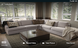 Screenshot of XFINITY Home
