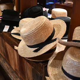 Amish Hats  by Lorraine D.  Heaney - Artistic Objects Clothing & Accessories