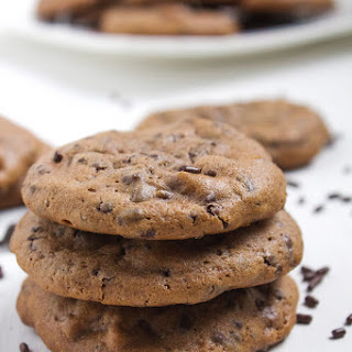 Double Chocolate Brownie Cookies