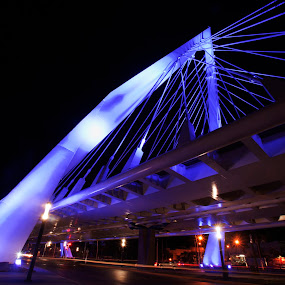 Bridge at Guadalajara by Cristobal Garciaferro Rubio - Buildings & Architecture Bridges & Suspended Structures ( color, mexico, street, guadalajara, bridge )