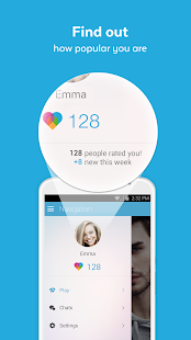 Badoo App for Windows Phone Screenshots (As seen on Microsoft Store)