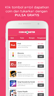 App Coin Monster: Isi Pulsa Gratis APK for Windows Phone