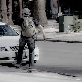 by Kevin Callahan - City,  Street & Park  Street Scenes