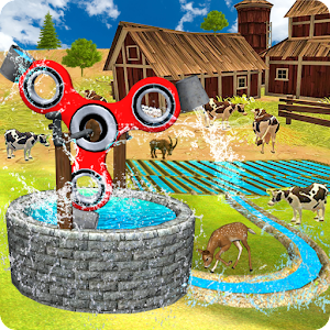 Fidget Spinner Farming Machine Simulator 3d 2017 Icon