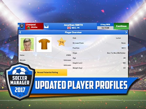 Soccer Manager 2017 APK screenshot thumbnail 2