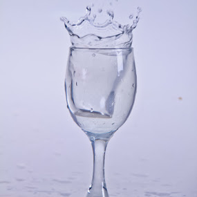 King Splash !!! by Aldo Pasha Permana - Artistic Objects Glass ( fineart, stilllife, keprifoto, waterdrope )