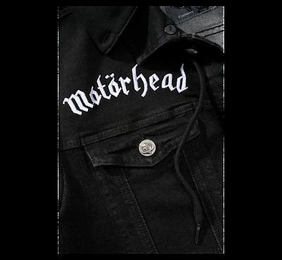 Джинсовка MOTOERHEAD - Brandit - чёрный