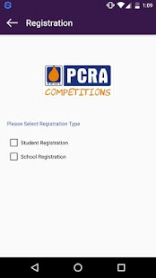 PCRA-Competitions - screenshot