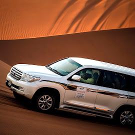Desert safari by Stanley P. - Transportation Automobiles ( automobiles, transportation )