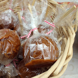 Carmel Apple by Lenora Popa - Food & Drink Candy & Dessert ( holiday, carmel apple, food, fall, halloween )