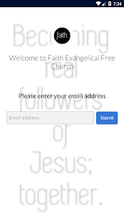 Faith Evangelical Free Church - screenshot