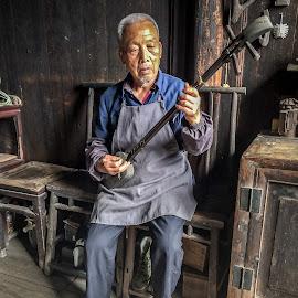 Daxu Handyman by David Long - Instagram & Mobile iPhone ( guilin, china, daxu )