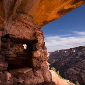 by Roxie Crouch - Buildings & Architecture Public & Historical ( ancient, mesa, utah, ruin, pueblo,  )