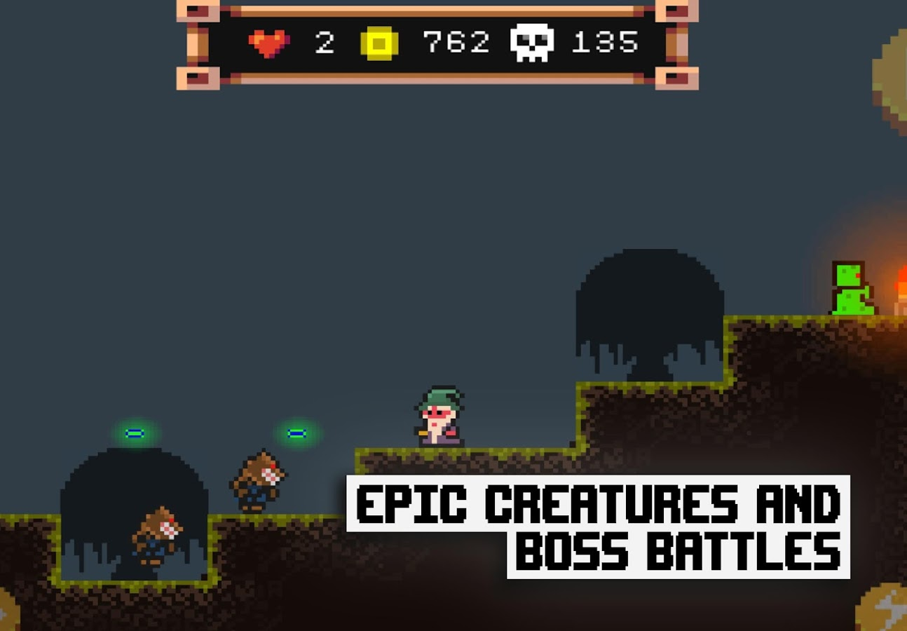 Pixel Wizard Adventures 2D Screenshot 1