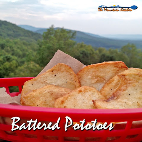 Battered Potatoes