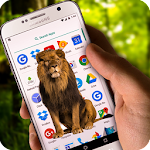 Roaring Lion on Screen Icon