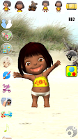 Screenshot of Talking Emily Baby