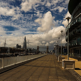 london by Gjunior Photographer - City,  Street & Park  Street Scenes ( clouds, building, architecture, cityscape, landscape )