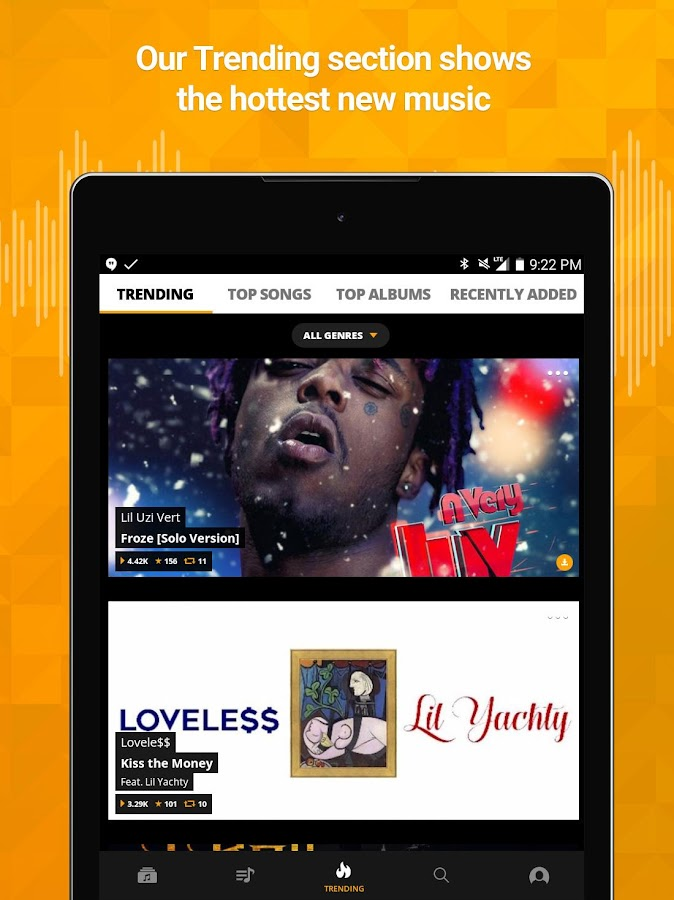 Audiomack Mixtapes & Music App Screenshot 9